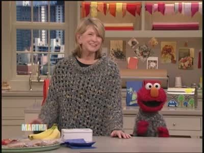 Watch Martha Stewart's Elmo Sings a Song for Martha Video. Get more step-by-step instructions and how to's from Martha Stewart.
