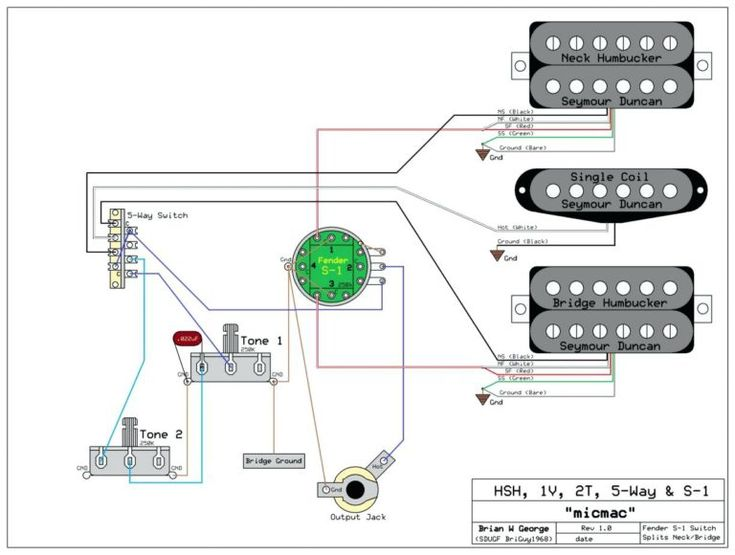 Fender Scn Pickup Wiring Diagram Inside Diagrams