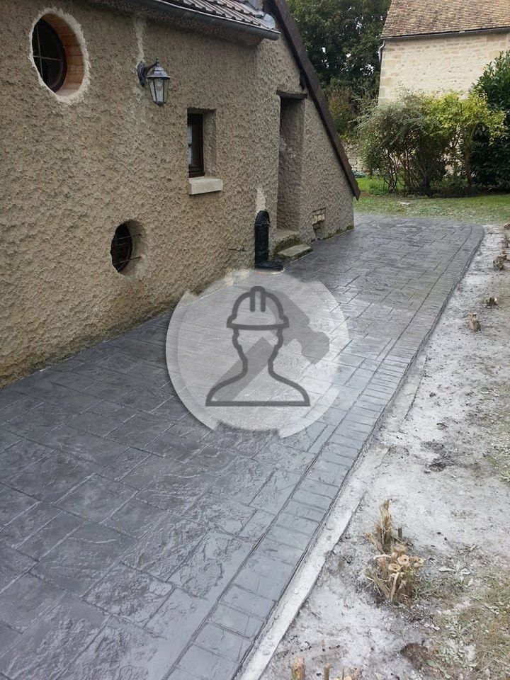 17 meilleures id es propos de beton d sactiv sur for Terrasse en beton decoratif