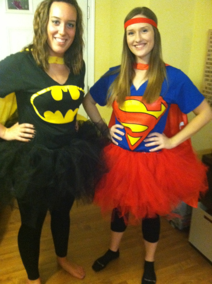 cheap costume for the supercon 5k superhero tshirts tutus and leggings homemade superhero costumeseasy costumeshomemade costumeshalloween - Easy Homemade Halloween Costumes For Teenage Girl