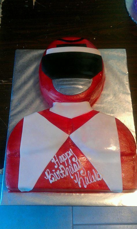 Power Ranger cake by Cakes by Rene!!