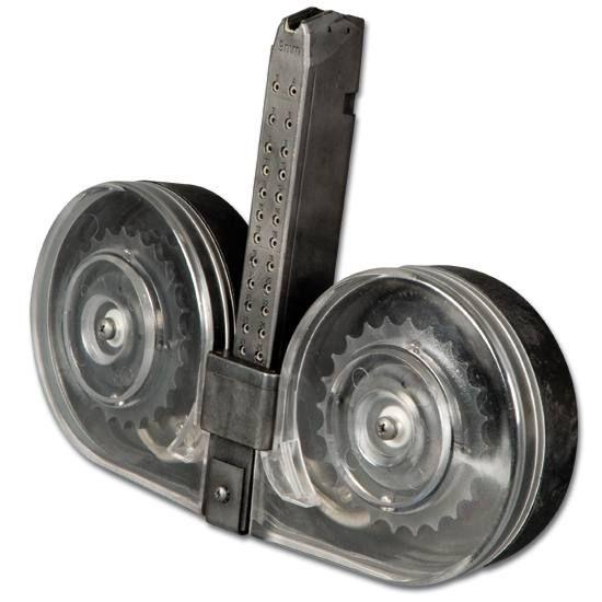 100 Round C Mag For 9mm Glock Handguns 319 Zombie