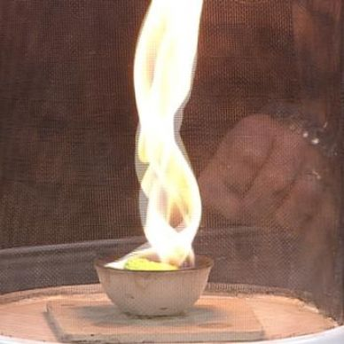 Fire Tornado | Experiments | Steve Spangler Science (go figure - my troop likes anything to do with fire and explosions ...will definitely need activity approval for this one lol)