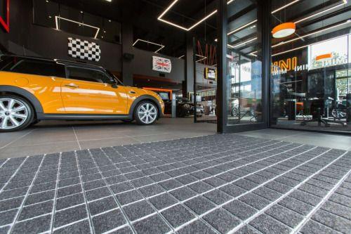 The Base Element - Shuttle Entrance Mat for Auckland MINI Garage