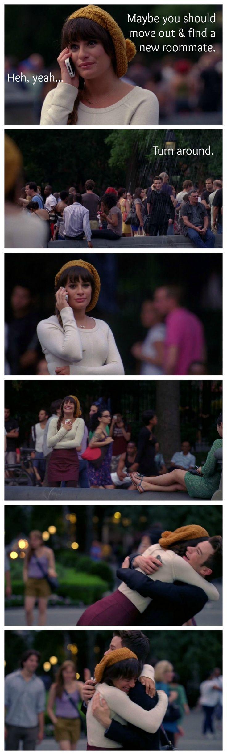 Glee!! Kurt Hummel and Rachel Berry...Assisti pela terceira vez ontem :))