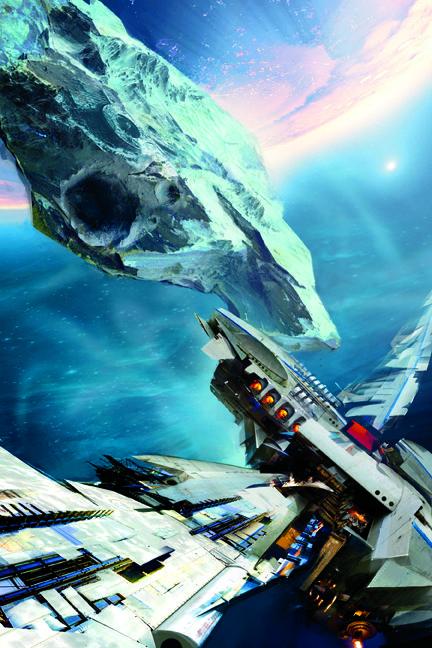 Cover Launch: Daniel Dociu art: Orbit Books | Science Fiction - LEVIATHAN WAKES (Expanse, #1) by James S.A. Corey