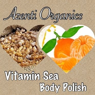 Replenish - Frankincense & Mandarin Organic Body Scrub  now available to pre-order with 20% off & a free Organic LipBalm http://shop.azenti-organics.co.uk/category/53312-spa-treatments.aspx