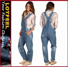 Denim overalls sport a relaxed fit and tapered straight leg women denim jeans  pants(LOTX264) Best Seller follow this link http://shopingayo.space
