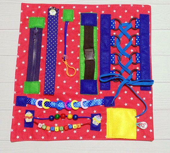 Fidget Blanket Dementia Blanket Toddler Busy Board Sensory
