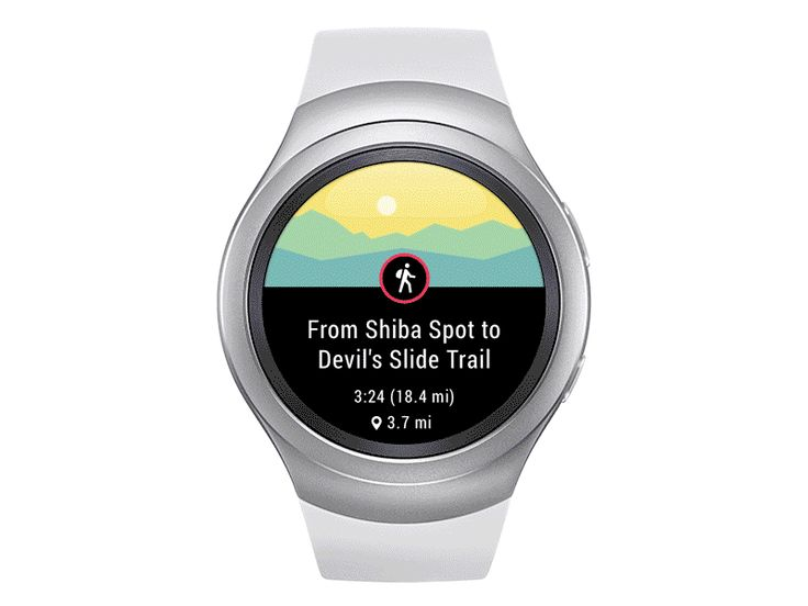Hey folks, I'm so thrilled to present you Komoot app, which is already available on fresh Samsung Gear S2 watch. Just choose your favorite tour, grab a bike and let's go for a new adventure! Offlin...
