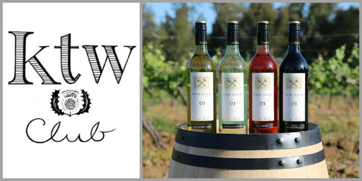 Give the gift of Membership for young wine lovers. Our new ; KTW Club, offers the PERDIEM range in 6 packs. Four styles delivered three times per year. No need for cellaring!