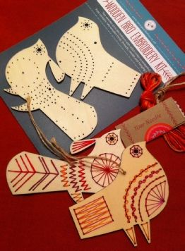 wooden birds embroidery kit www.nancynicholson.co.uk
