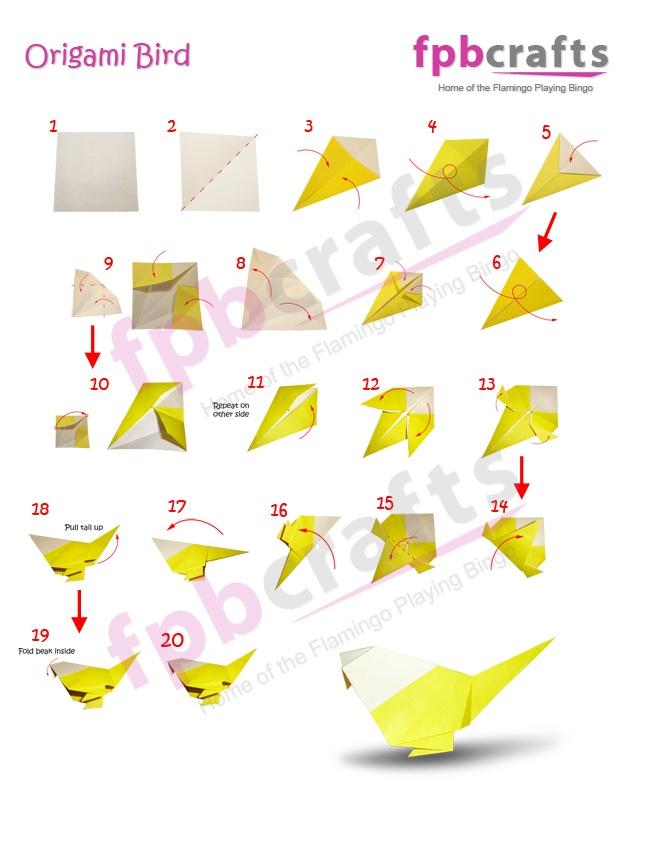 FPB Crafts - Origami - Bird