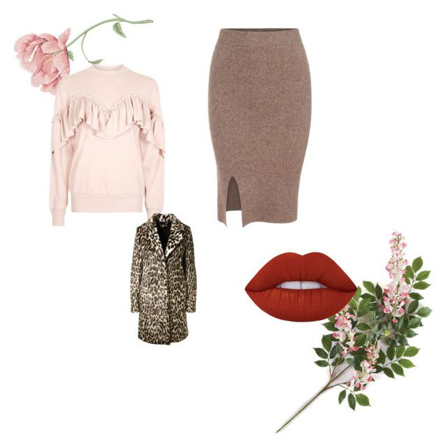 """1930s"" by akansha125 on Polyvore featuring Topshop, STELLA McCARTNEY and Lime Crime"