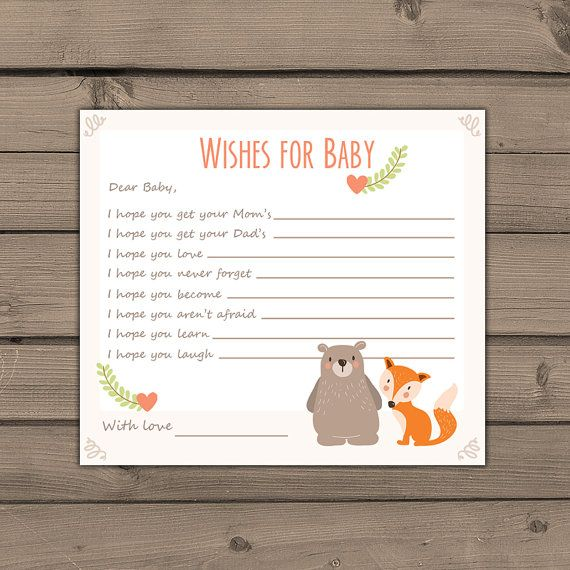wishes for baby template printable - 25 best ideas about wishes for baby on pinterest baby