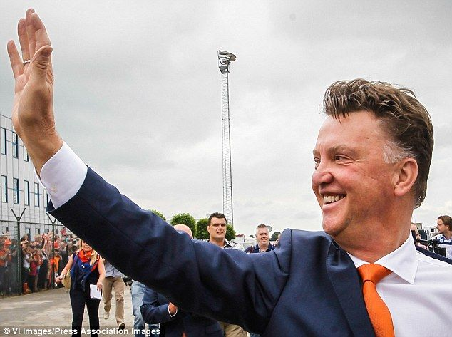 Dutch of class: Louis van Gaal has taken over as Manchester United manager ahead of the new season #GC