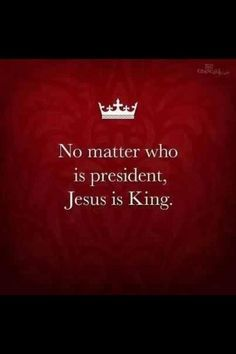 I JESUS Not only is Jesus Christ King.............He is King of Kings Lord of Lords..........Revelation 19:16..........And every authority on earth, visible or invisible, must bow to him.......1 Peter 3:22 A sacred online space at http://www.godismyguide.com