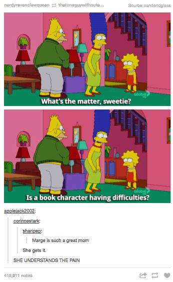 MARGE UNDERSTANDS