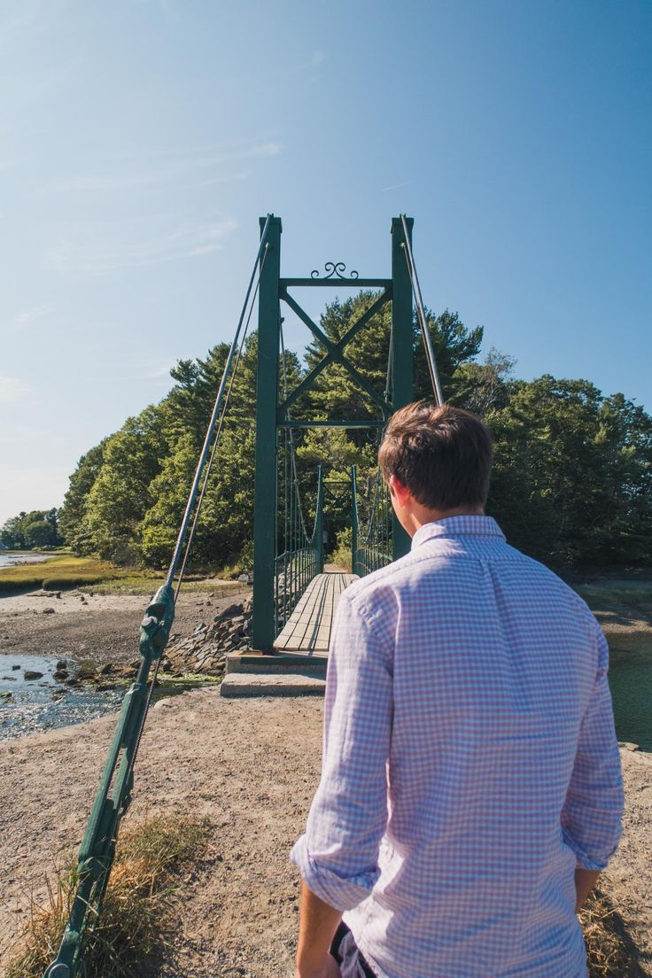 Wiggly Bridge in York, Maine / Travel Guide / Simply Lovebirds