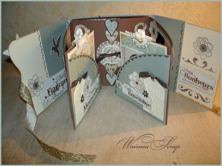 """Mini Album """"Bonheur"""" - waimeascrap"""