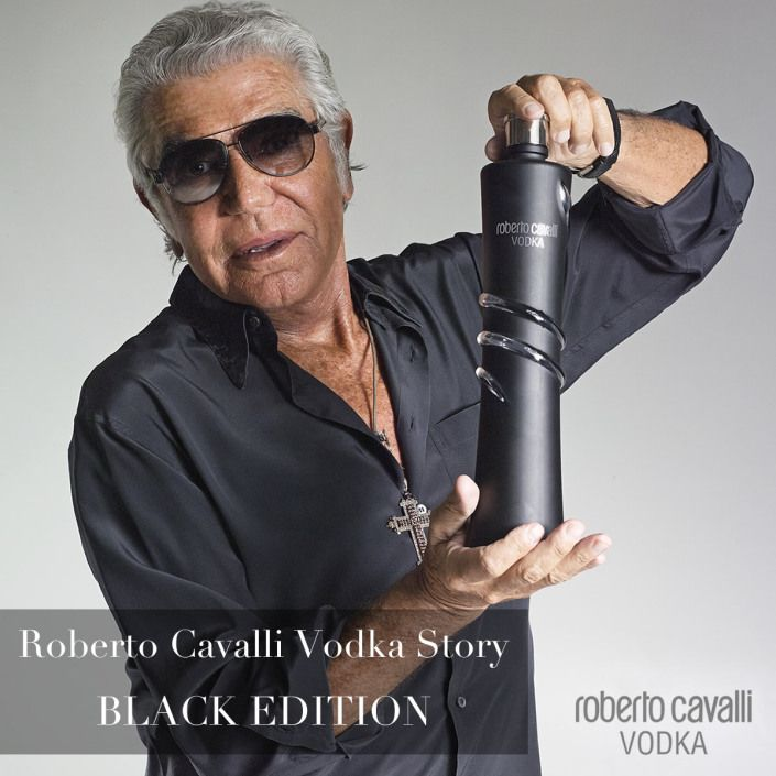 Roberto Cavalli Vodka Story – Black Limited Edition