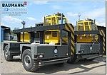 Боковые автопогрузчики BAUMANN GS 120/16/35 грузоподъёмностью 12 тонн для ВМЗ