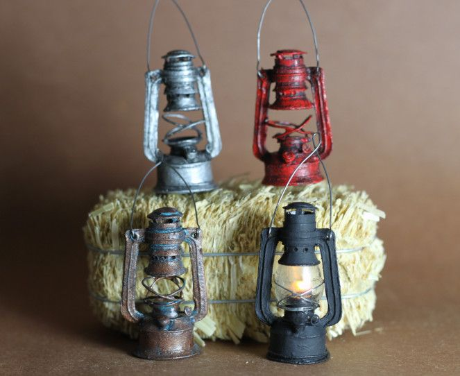 Miniature lantern tutorial                                                                                                                                                                                 More