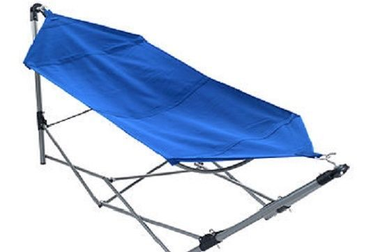 Hammock and Stand Carrying Bag For Camping Hiking Folding Backyard Sleeping Gear #Unbranded