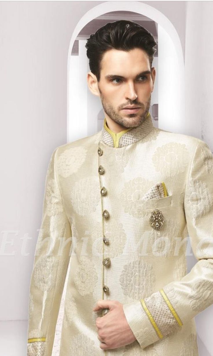 Cream Jodhpuri Jacket!