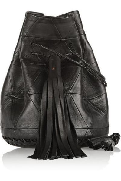 #covetmeBullet patchwork leather bucket bag #accessories #covetme #wendynichol
