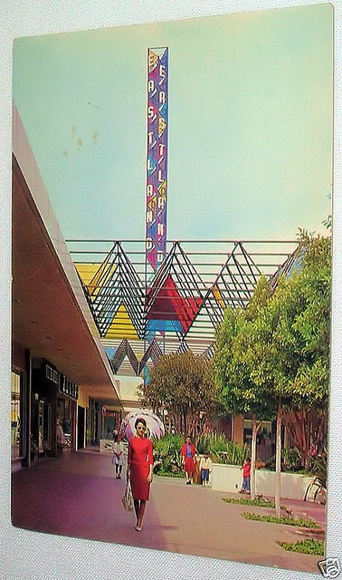 Eastland Center, West Covina, California 1960's by A Box of Pictures, via Flickr