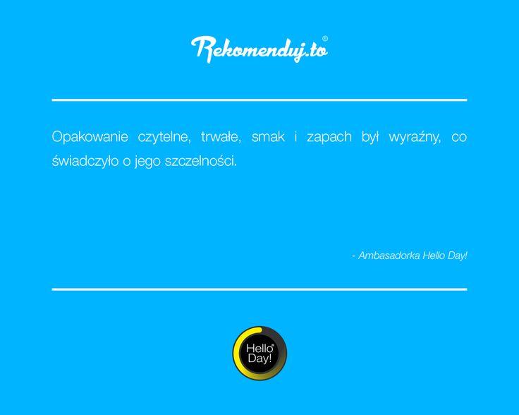 Ambasador #Rekomendujto o płatkach i owsiankach #HelloDay Dziękujemy za liczne opinie!
