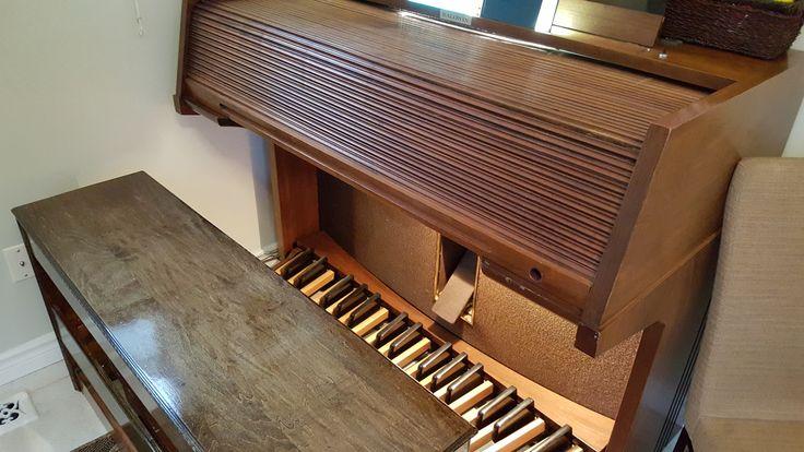My Baldwin C630t Organ-cover closed