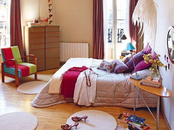 15 pines de dormitorios estilo bohemio que no te puedes - Decoracion indu ...