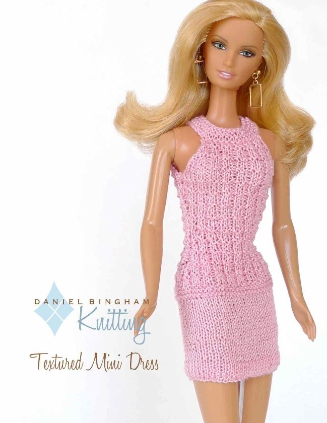 1000 Images About Knitting Patterns By Daniel Bingham Designs For Barbie Dolls On Pinterest