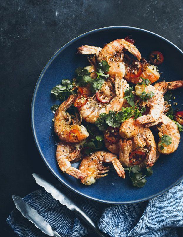 Salt and Pepper Shrimp | Bon Appétit | Eva Kolenko Photography