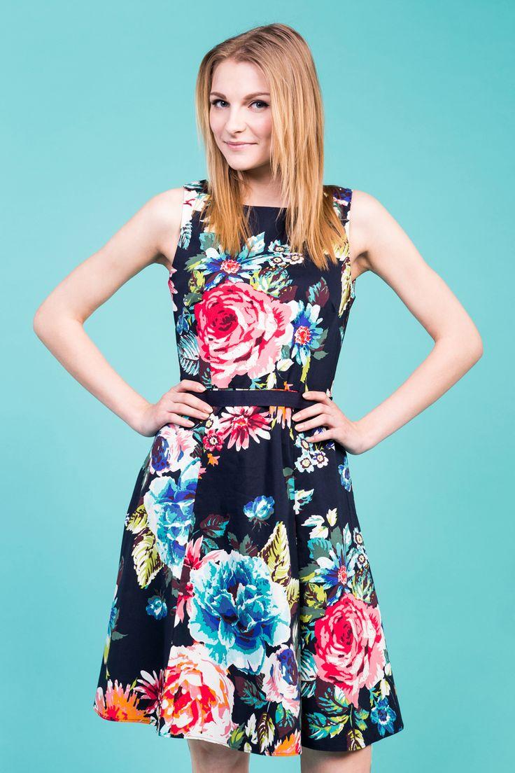 Sesja bannerowa #session #banner #model #depare #flowers #dress