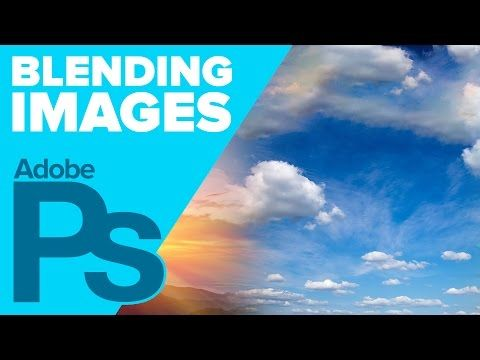 How to Blend Multiple Images in Photoshop - YouTube