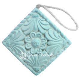 Molde ambientador decorativo cuadrado flor ideal para armarios y vestidores perfecto p - Ambientadores para armarios ...