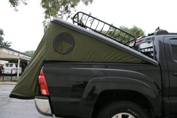 Tonneau Tent Truck Camper Shells Truck Camping Truck
