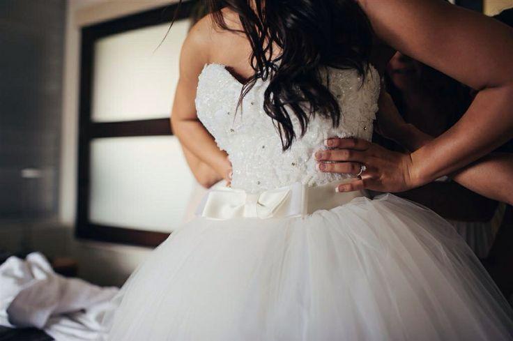 Mr & Mrs Fletcher : Our Wedding : Dress - Darb Bridal  Photographer : Todd Hunter McGaw