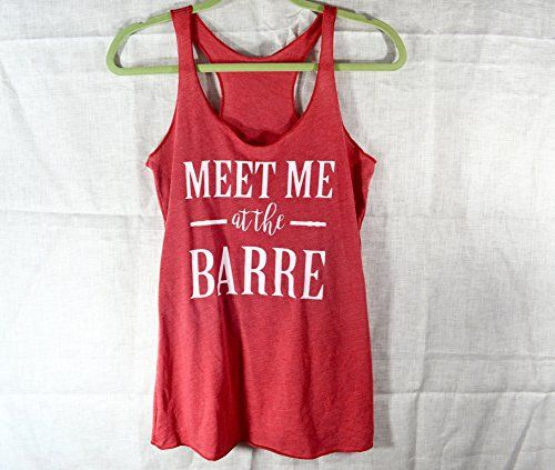 Meet Me At The Barre. Women's Tank Top. Gym Tank. Triblend Tank. Charcoal Black Tank. Gym Tank.