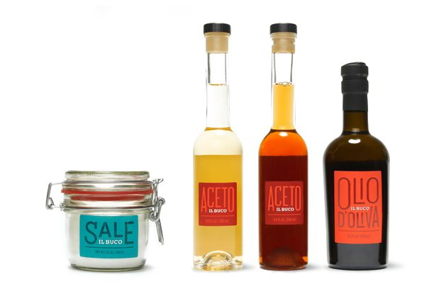 Il Buco grocery store and wine bar branding and packaging by Mucca