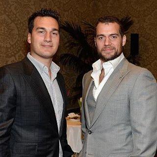 Henry y su hermano Charlie Cavill  Good morning  . . . . #henrycavill #Superman #batmanvsupermandawnofjustice  #justiceleague #picoftheday #Henrylicious #henrycavilllatinfans