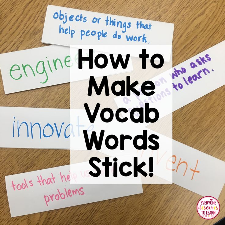 vocabulary strategies for english language learners