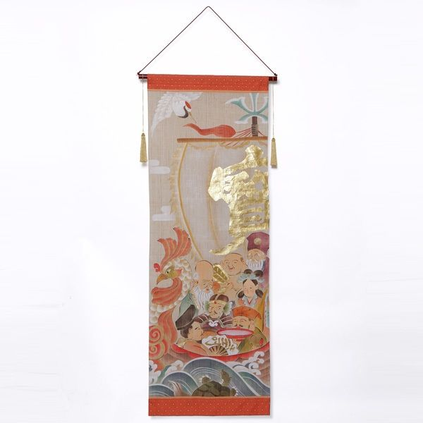吉祥宝船七福神タペストリー|日本市 日本の土産もの|中川政七商店公式通販