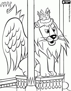 The flying Lion King Moonracer