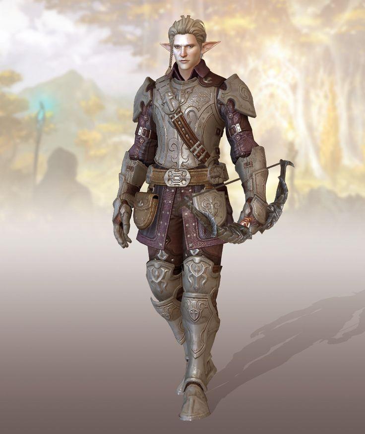Model: Hunthor (customized name), elf race Game: Bless Online