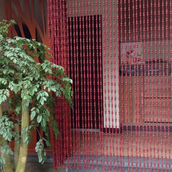 Wine Wooden Oriental Beaded Curtains For Doorways Beaded Curtains Beaded Door Curtains Beaded Curtains Doorway