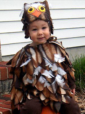 Cute Animal-Themed Costumes for Kids: Owl (via Parents.com)